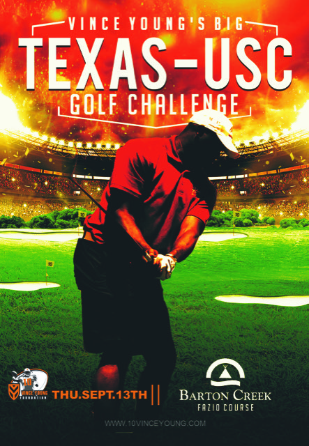 Sept 13th, 2018 – Vince Young's Big TEXAS-USC Golf Challenge