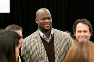 Vince Young Supports Programs for Low-Income, 1st Gen Students